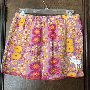 Other - 🌸🌼 Reversible Flower/Plaid Cotton Pajama Shorts